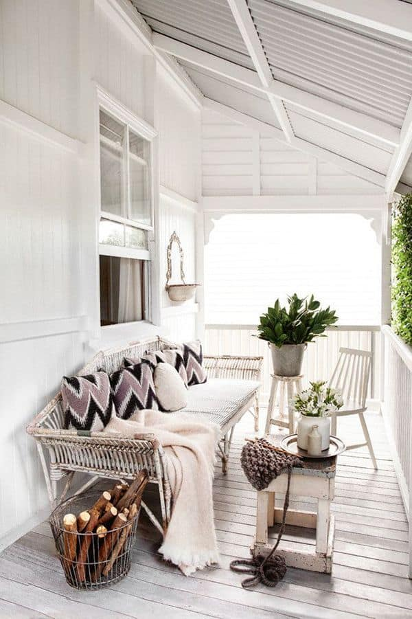 porch decoraating ideas, farmhouse style