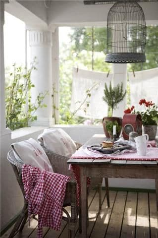 country porch ideas