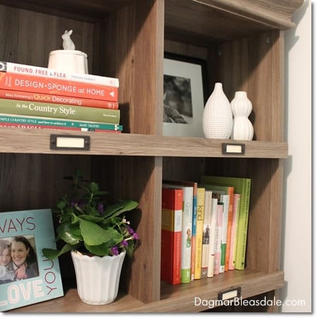 Our New Eco-Friendly Bookcase, on a DIY Budget