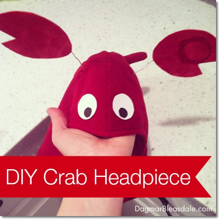 DIY Crab Headpiece