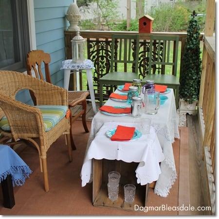 Outdoor Oasis Party, DagmarBleasdale.com