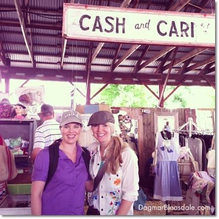 Cari Cucksey at the Country Living Fair in Rhinebeck, NY
