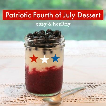 Patriotic Fourth of July Dessert
