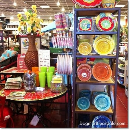 Pier 1 Imports summer 2014 collection melamine plates