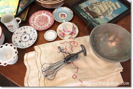 vintage finds, tag sale finds
