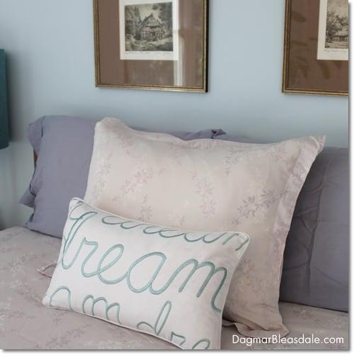Sleeping Pretty On My New Organic Wool Pillow