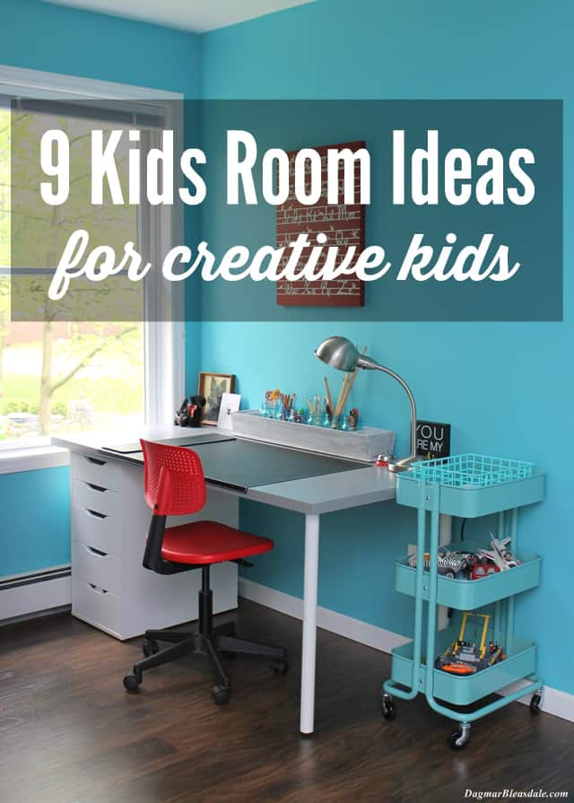 Kids Room Ideas for Creative Kids, DagmarBleasdale.com