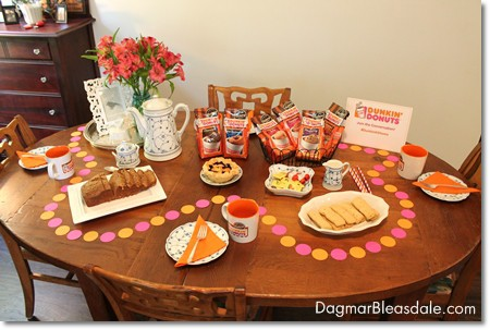Dunkin' Donuts Bakery Series Coffees party