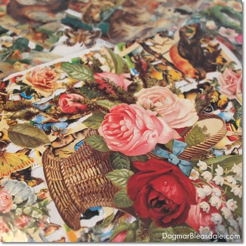 vintage finds, die-cuts, oblaten, from Germany