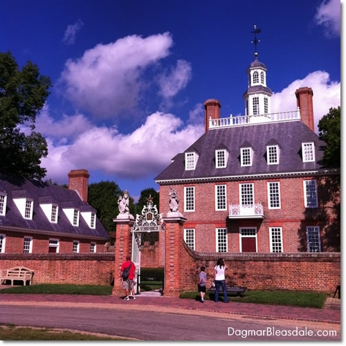 Governor's Palace, Colonial Williamsburg, VA