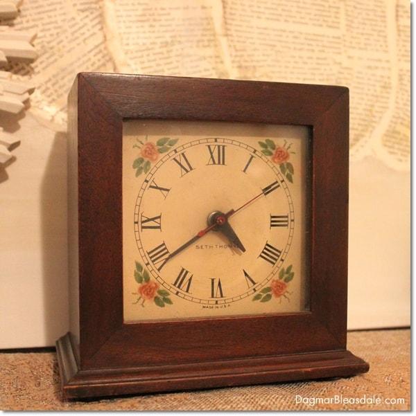 vintage finds - vintage alarm clock
