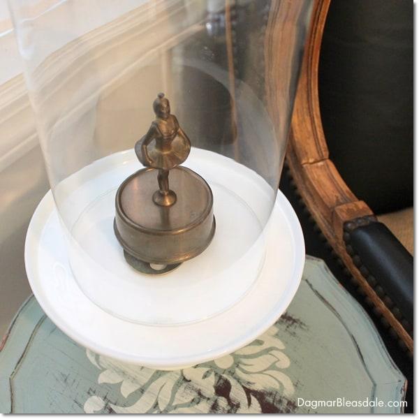 vintage ballerina music box, DagmarBleasdale.com