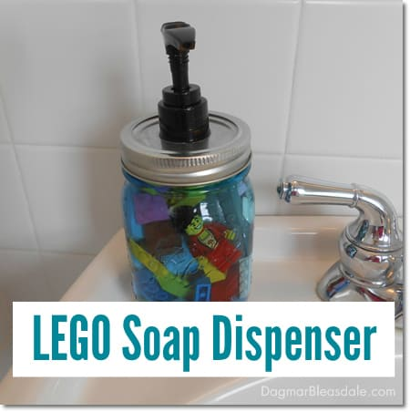 lego soap dispenser tutorial