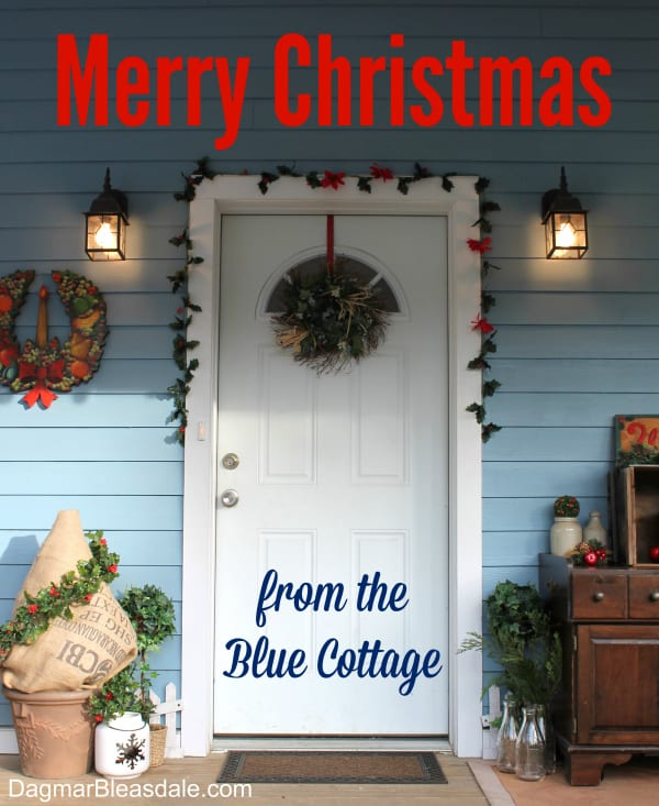 Merry Christmas from the Blue Cottage