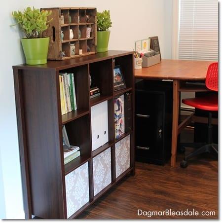 furniture for small homes: closetmaid cube storage shelf