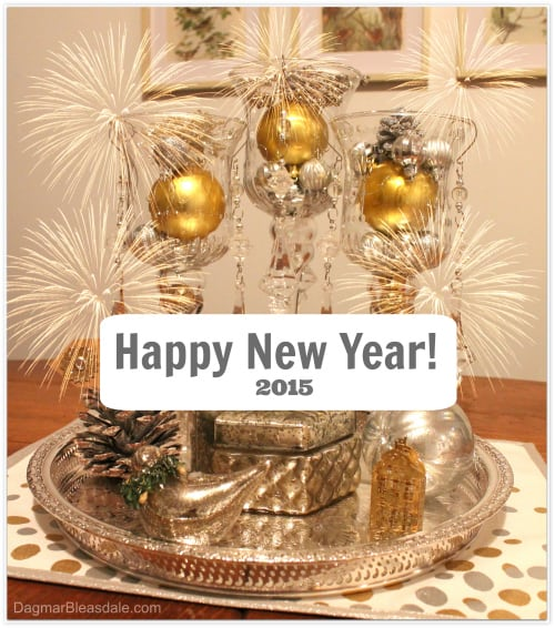 New Year's Eve Tablescape and New Year Gift Ideas