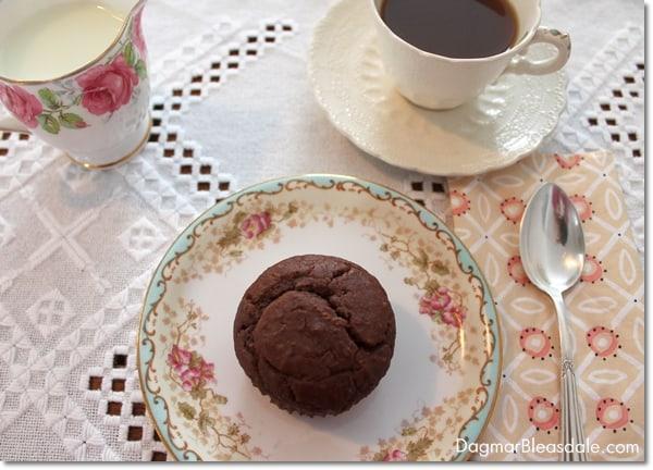 Peanut butter honey muffin, eggless recipe, DagmarBleasdale.com