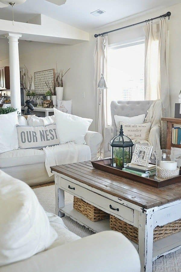 small living room design ideas coffee table