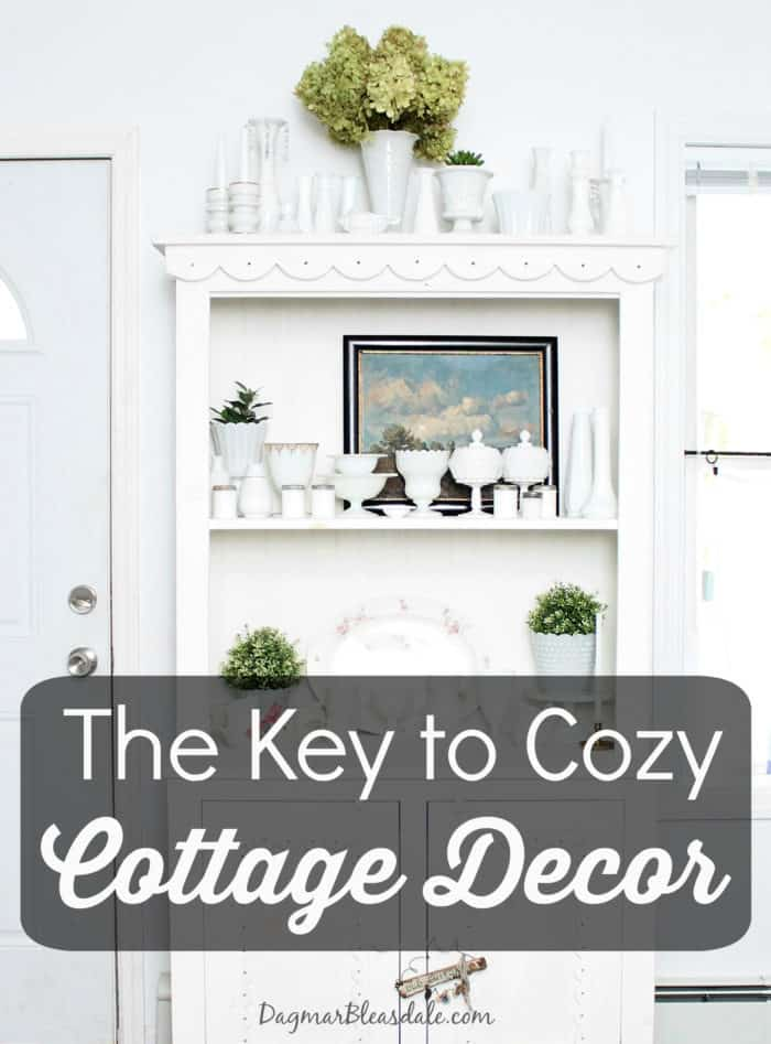 Cottage style decorating ideas, DagmarBleasdale.com