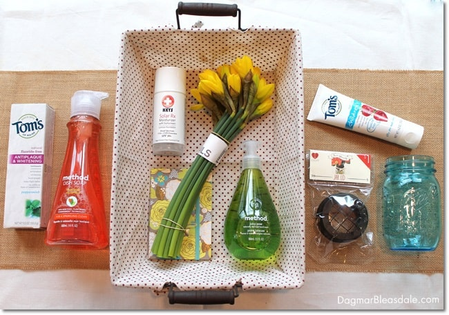 DIY GREEN YOUR HOME Gift Basket, DagmarBleasdale.com