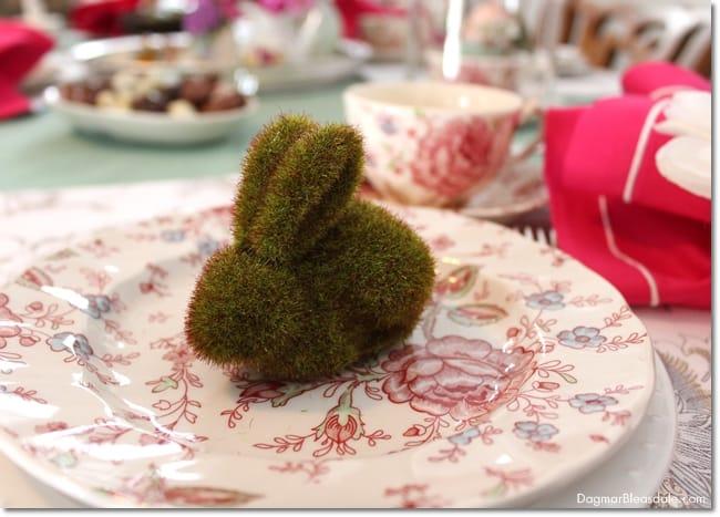 Easy Easter Tablescape, DagmarBleasdale.com
