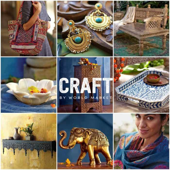 Introducing the CRAFT BY WORLD MARKET Collection