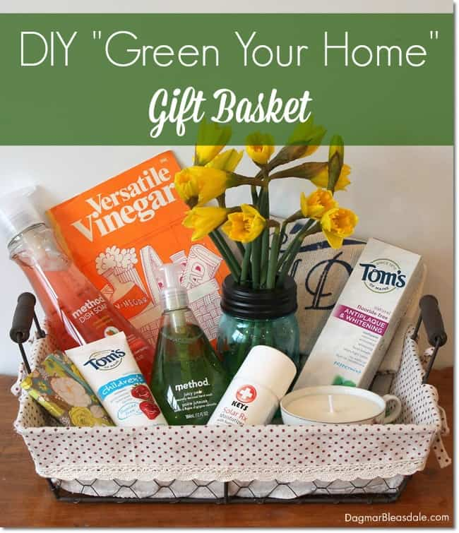 GREEN YOUR HOME Gift Basket