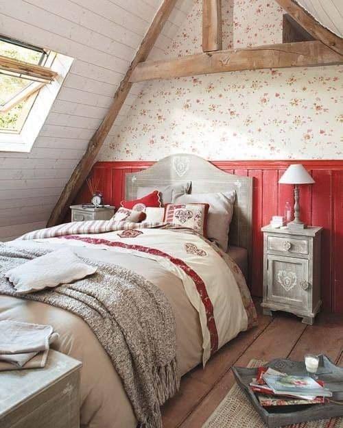 cottage attic bedroom. DagmarBleasdale.com