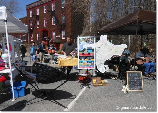 Hastings-on-Hudson and the Hastings Flea. DagmarBleasdale.com