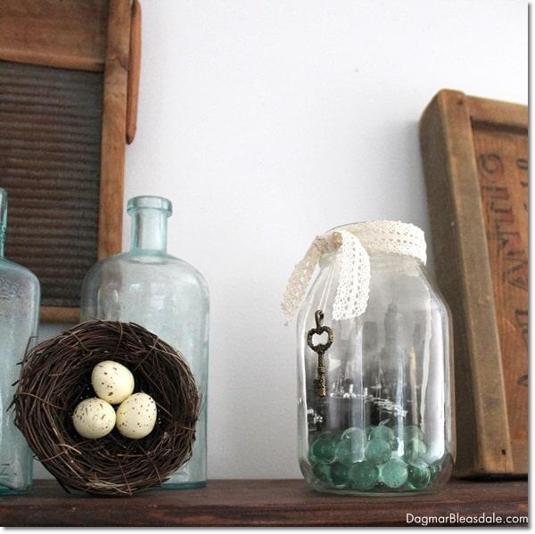 Upcycling a Glass Jar into a DIY Candle. DagmarBleasdale.com