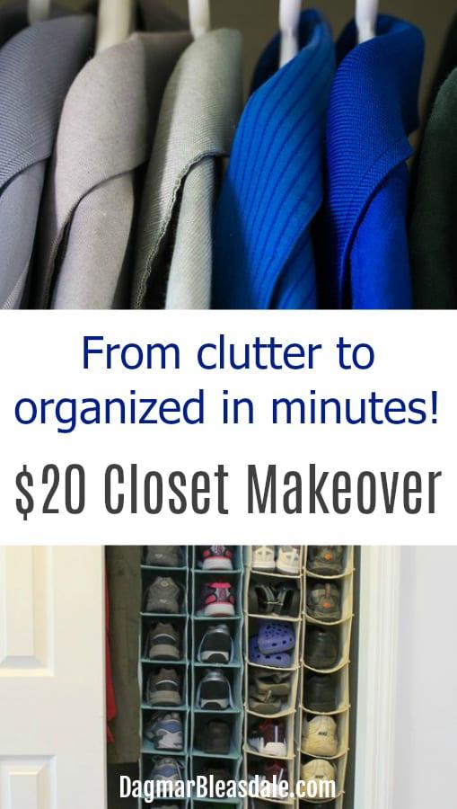 closet makeover easy