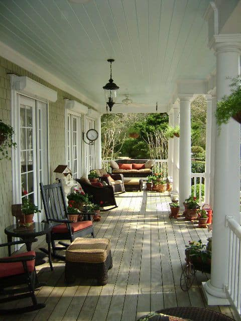 porch decor ideas for spring