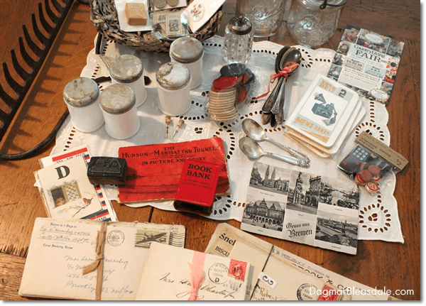 """Thrifty & Vintage Finds"" Link Party #70 — Vintage Letters"