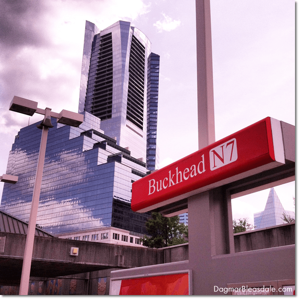 Buckhead Marta Station, Atlanta