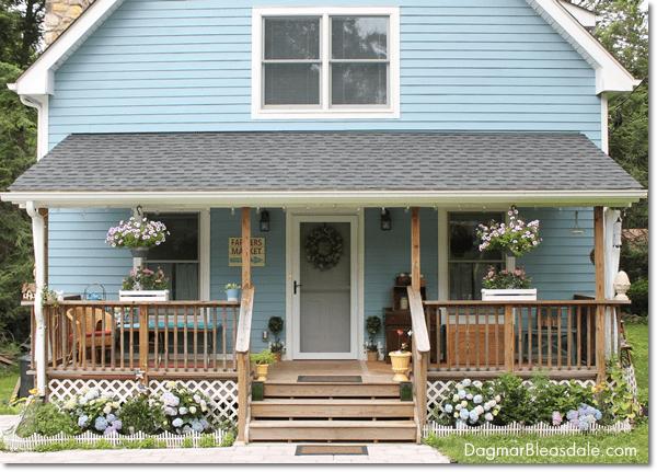 Dagmar's Home, Blue Cottage, DagmarBleasdale.com