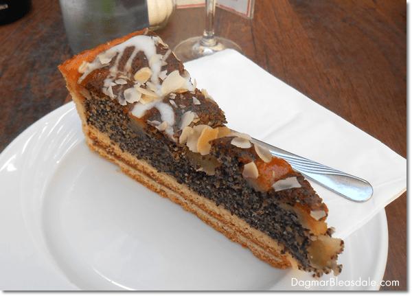 German poppy seed cake