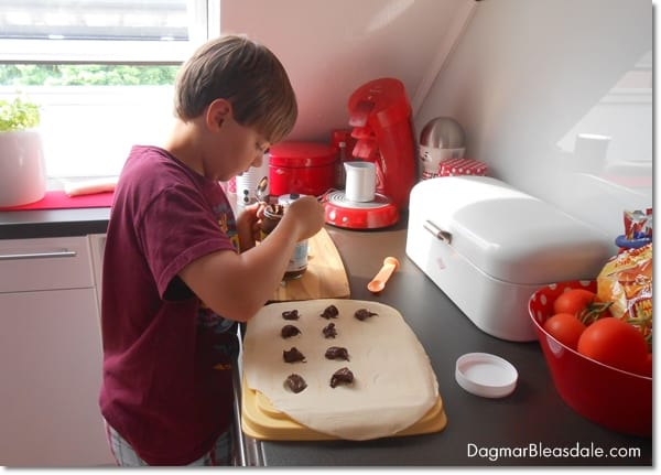 Baked Nutella Ravioli – Fun on Our Germany Trip