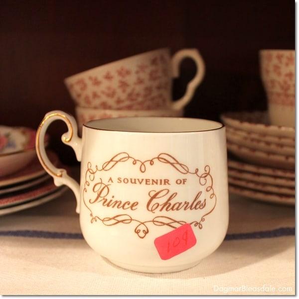 """Thrifty & Vintage Finds"" Link Party #77 — Prince Charles Mug"