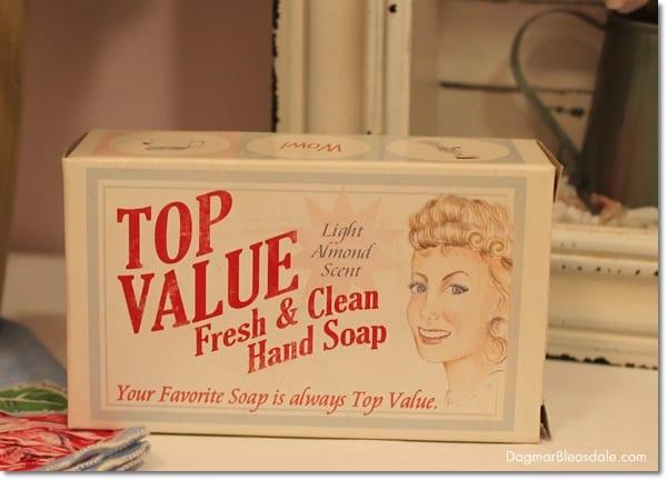 vintage soap