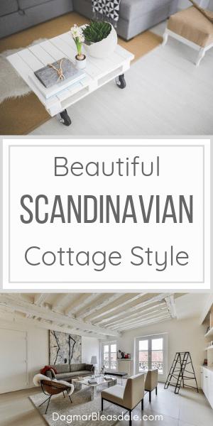 Scandinavian decor cottage style