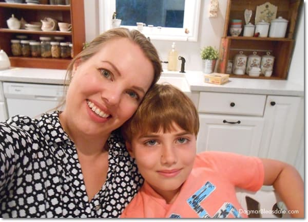 Making Memories in Our Blue Cottage Kitchen