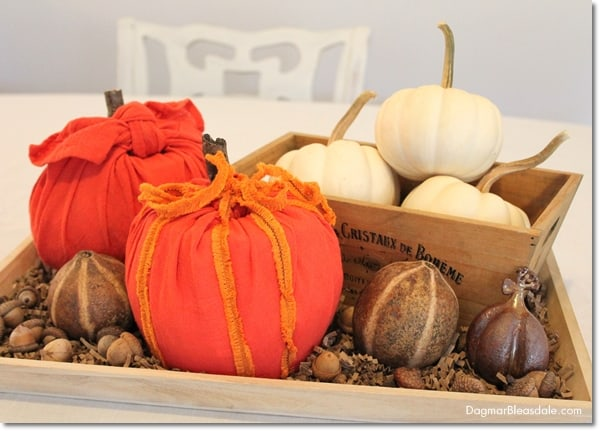 Toilet Paper Roll Pumpkin for Easy DIY Fall Decor