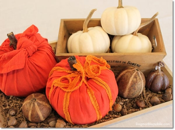 No-Sew Toilet Paper Pumpkins for Easy DIY Fall Decor