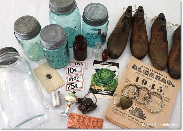 vintage shoe molds