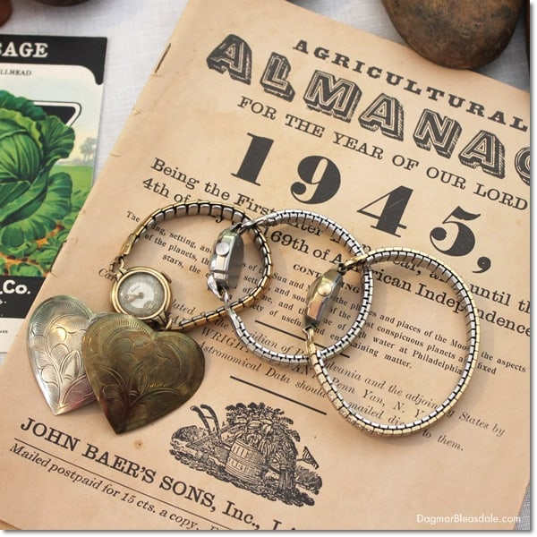 vintage almanac