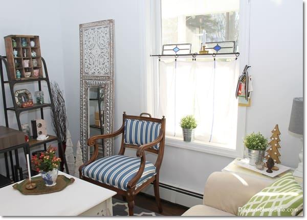 vintage chairs with handles, DagmarBleasdale.com