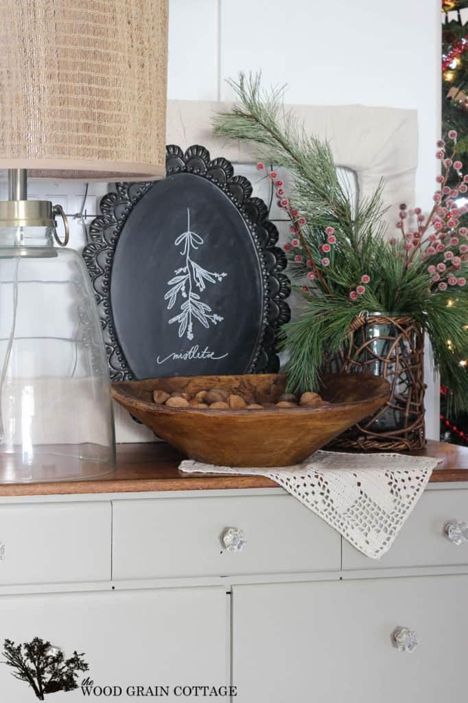 easy DIY Christmas farmhouse decor