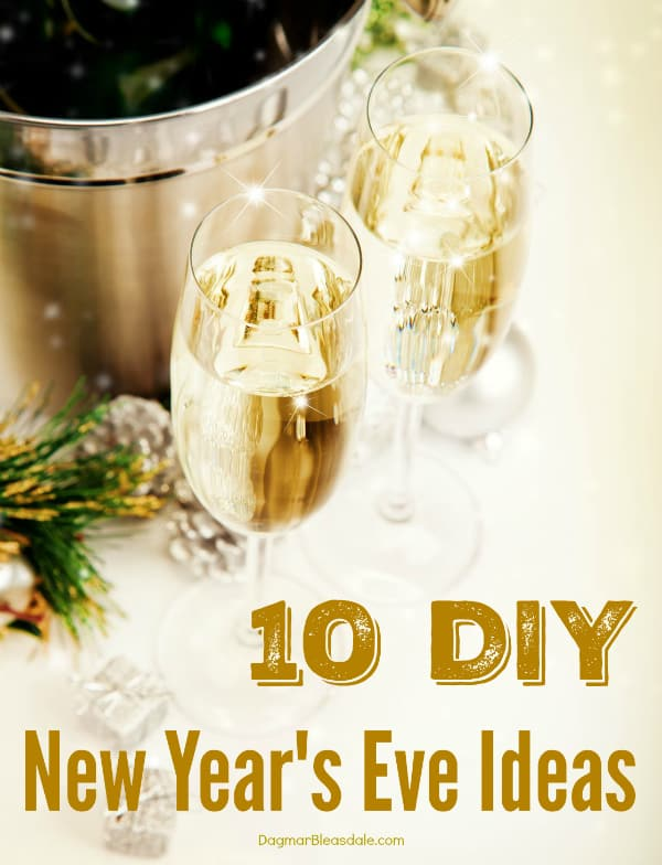 10 New Year's Eve party ideas, DagmarBleasdale.com