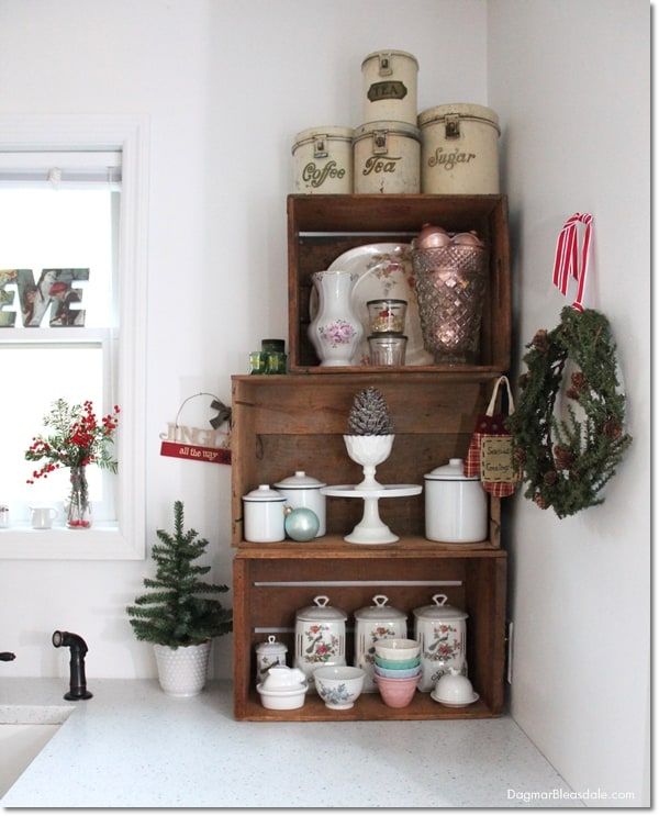 Cottage Christmas Home Tour, DagmarBleasdale.com