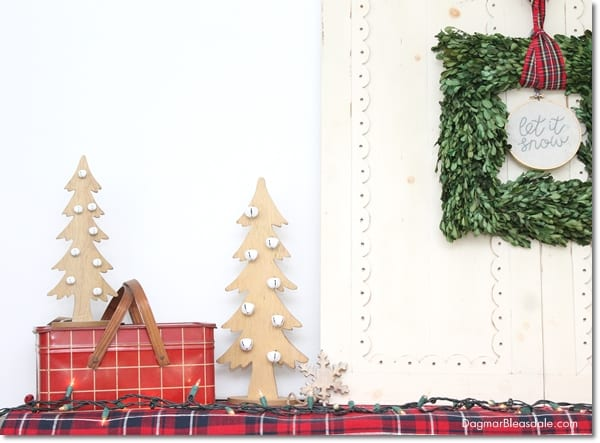 Blue Cottage Christmas Home Tour 2015